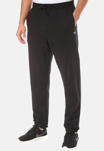 MN BASIC FLEECE PANT - Tracksuit bottoms - black