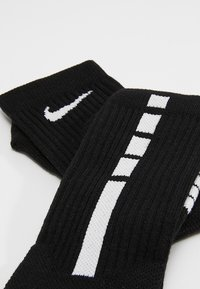 Nike Performance - ELITE CREW - Calze sportive - black/white/white - 2