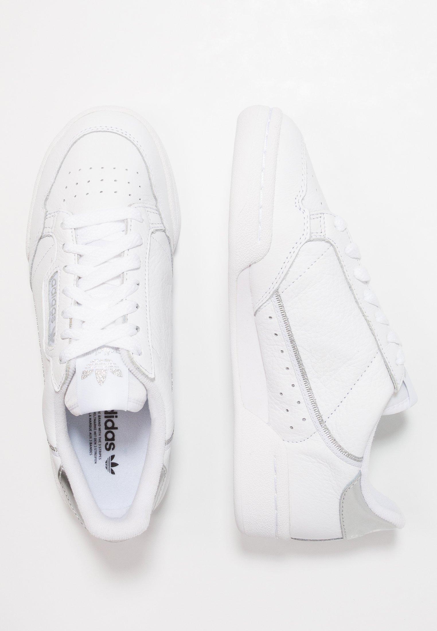 CONTINENTAL 80 - Sneakers laag - footwear white/silver metallic