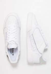 adidas Originals - CONTINENTAL 80 - Trainers - footwear white/silver metallic - 3