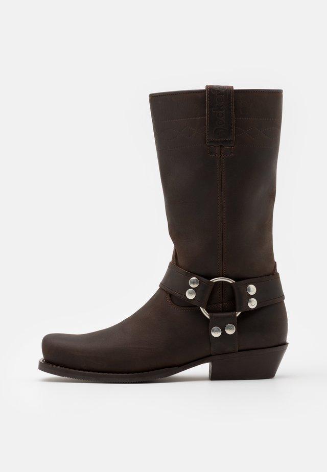 Cowboystøvler - brown