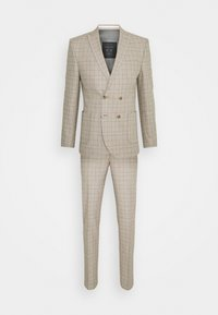 Shelby & Sons - ROSSENDALE SUIT SET - Puku - beige/white/black/baby blue - 0