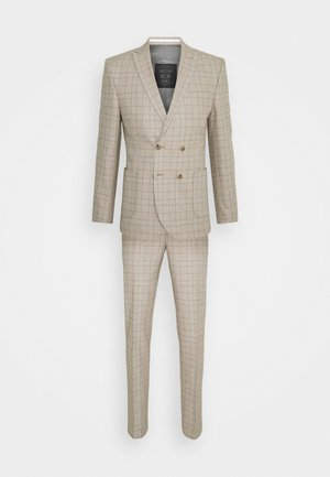 ROSSENDALE SUIT SET - Completo - beige/white/black/baby blue