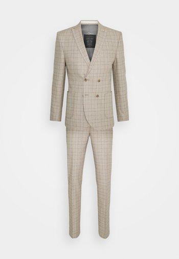 ROSSENDALE SUIT SET - Suit - beige/white/black/baby blue