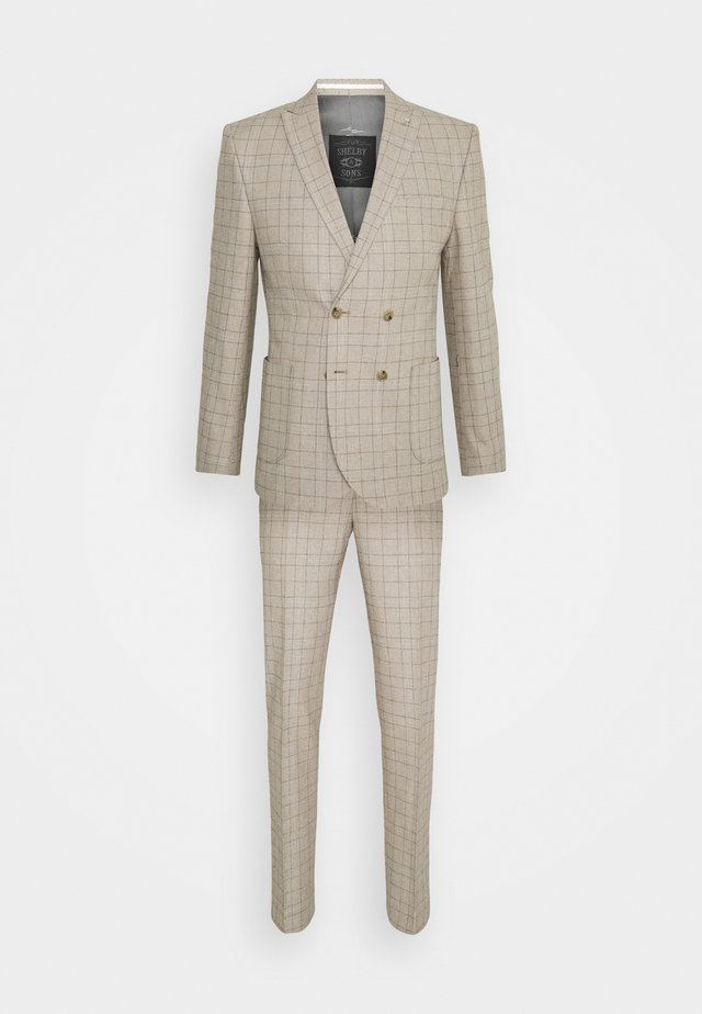 ROSSENDALE SUIT SET - Kostuum - beige/white/black/baby blue