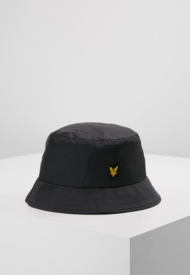 RIPSTOP BUCKET HAT - Klobouk - true black
