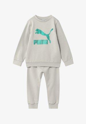 PUMA X ZALANDO BABY JOGG SET - Tracksuit - gray violet