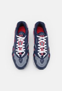 Nike Sportswear - AIR MAX 96 II - Sneakers basse - midnight navy/metallic silver/cool grey/university red/white/black - 3