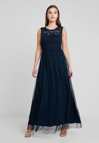 Vila - VILYNNEA MAXI DRESS - Gallakjole - total eclipse - 1