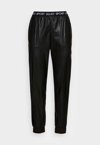 Liu Jo Jeans - PANT SPALMATO - Trousers - nero - 3