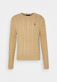 Polo Ralph Lauren - CABLE - Pullover - camel melange - 4