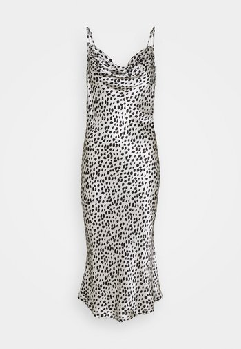 CUT SLIP DRESS - Koktejlové šaty/ šaty na párty - ivory