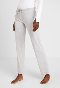 Esprit - JORDYN SINGLE PANTS - Pyjama bottoms - light grey - 0