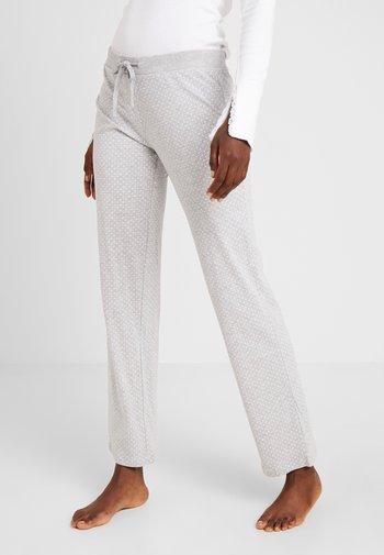 JORDYN SINGLE PANTS - Pyjama bottoms - light grey