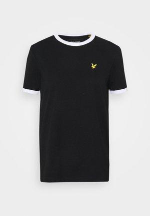 RINGER  - T-shirts med print - jet black