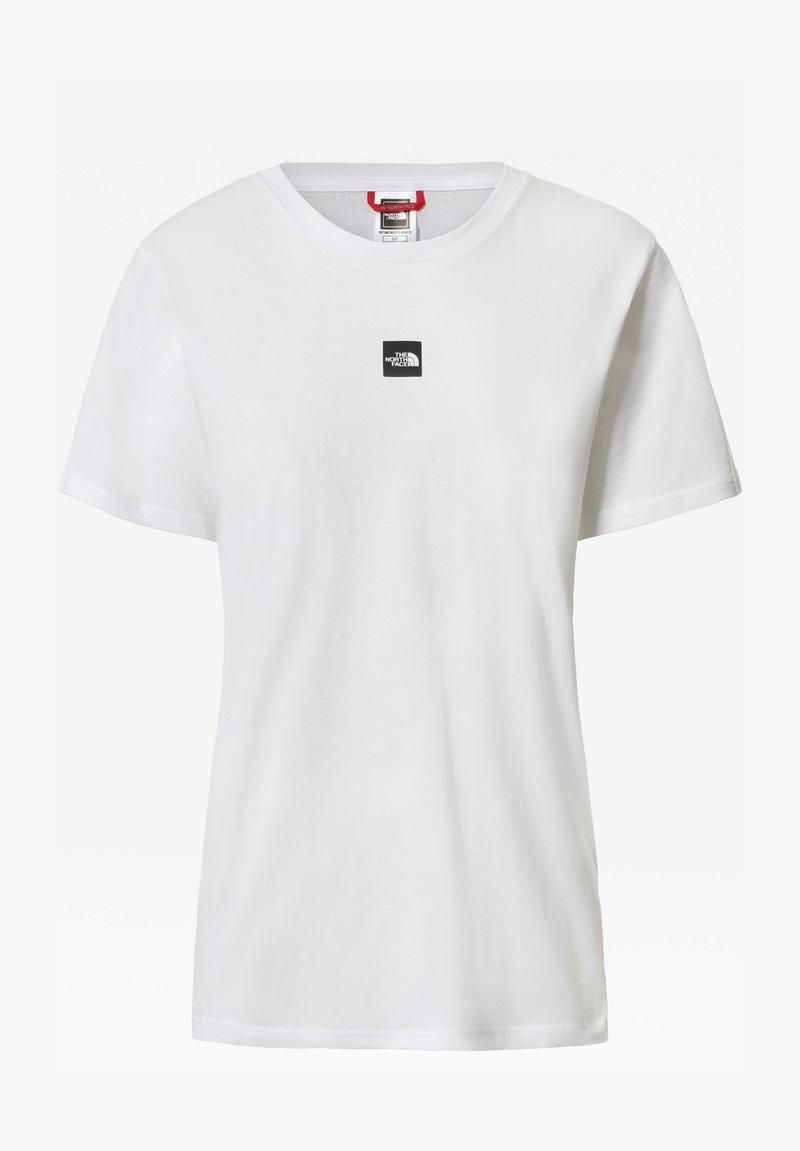 The North Face - Basic T-shirt - white