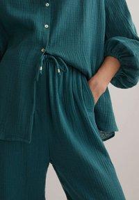 OYSHO - Pantalon classique - dark blue - 3