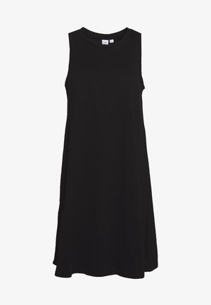SWING - Jersey dress - true black