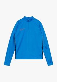 Nike Performance - DRY ACADEMY DRIL - Sports shirt - soar/obsidian/laser crimson - 0