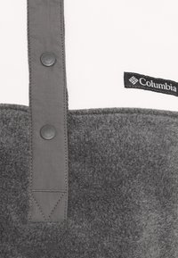 Columbia - BENTON 1/2 SNAP - Forro polar - city grey heather/chalk - 5