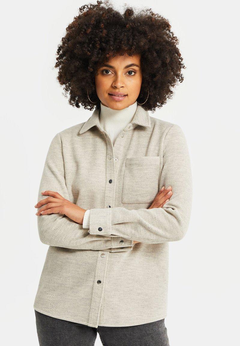 WE Fashion - Button-down blouse - beige