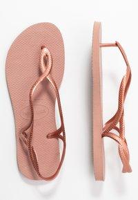 Havaianas - LUNA - T-bar sandals - crocus rose - 6