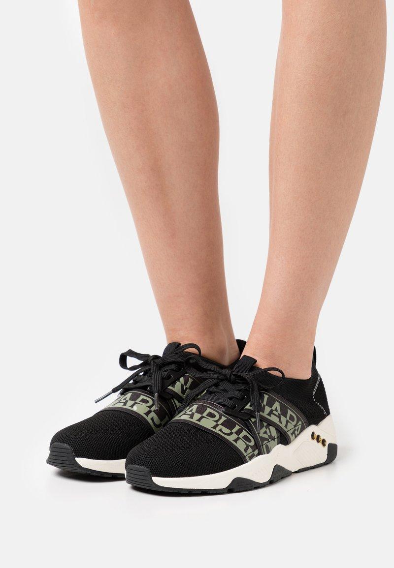 Napapijri - LEAF - Sneakers laag - black