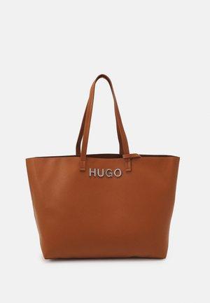 BRENDA SHOPPER - Tote bag - medium brown