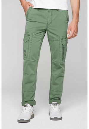CARGOHOSE  - Cargo trousers - pure olive