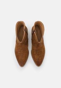 Greyder Lab - Cowboy/biker ankle boot - cognac - 5