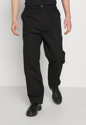 CARPENTER TROUERS - Pantalon classique - black