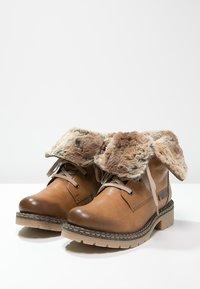 Rieker - Šněrovací kotníkové boty - cayenne/kastanie/braun - 7
