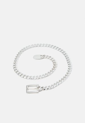 PCNIFFI CHAIN BELT - Pasek - silver-coloured