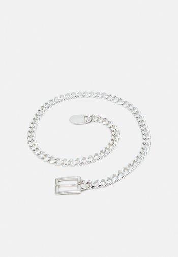 PCNIFFI CHAIN BELT - Belt - silver-coloured