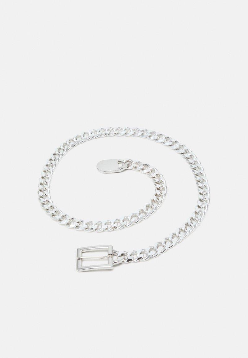 Pieces - PCNIFFI CHAIN BELT - Vyö - silver-coloured