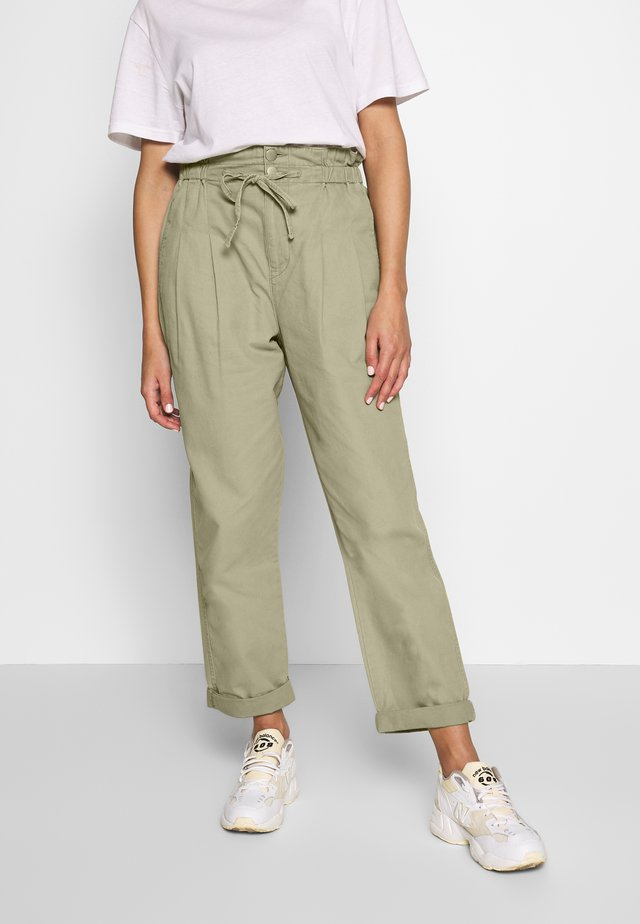 PAPERBAG UTILITY - Trousers - tea