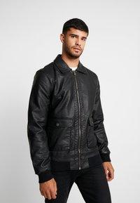 Tiffosi - FLYER - Faux leather jacket - black - 3