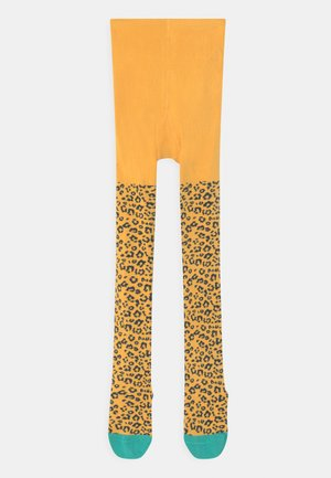 NORAH ANIMAL PRINT - Collant - yellow