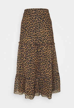 HINA SKIRT - Maxi skirt - brown