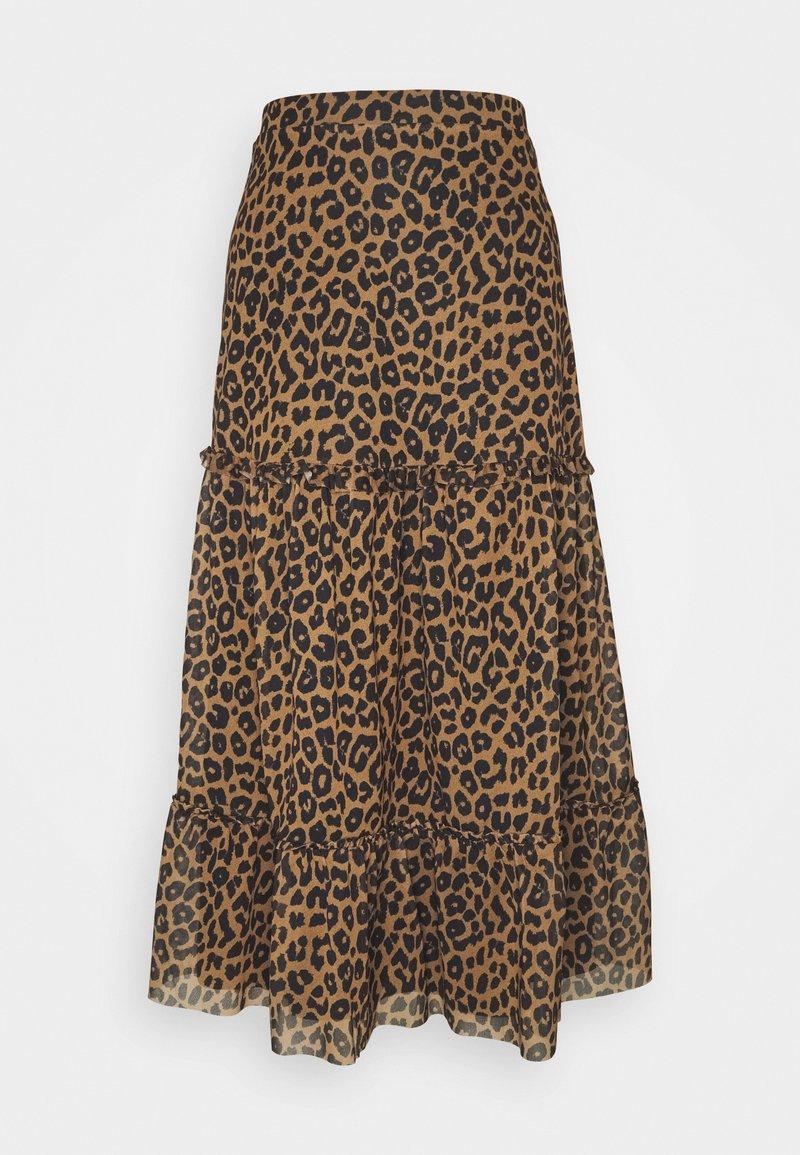 EDITED - HINA SKIRT - Maxi skirt - brown