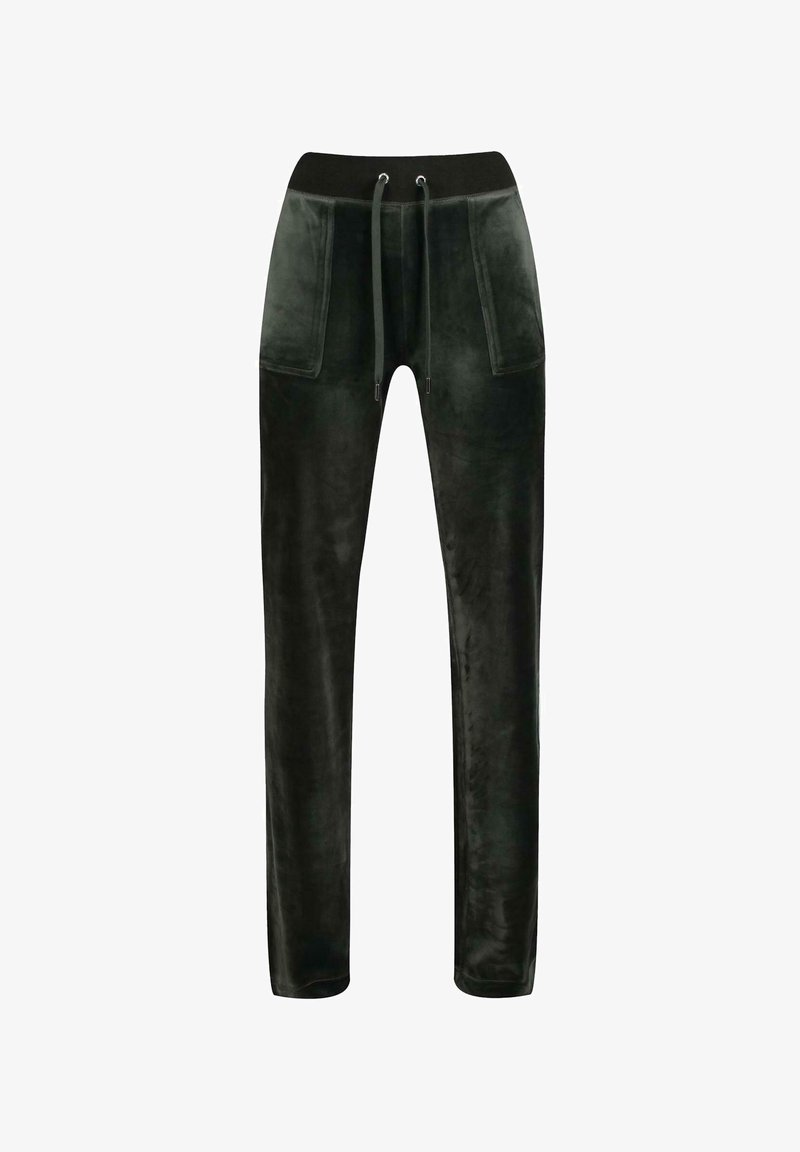 Juicy Couture - DEL RAY - Bukse - dark moss