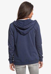Roxy - COSMIC NIGHTS - Zip-up sweatshirt - mood indigo - 2
