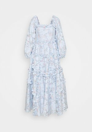 SUMMER BLOSSOM ANKLE GOWN - Day dress - wedgewood blue