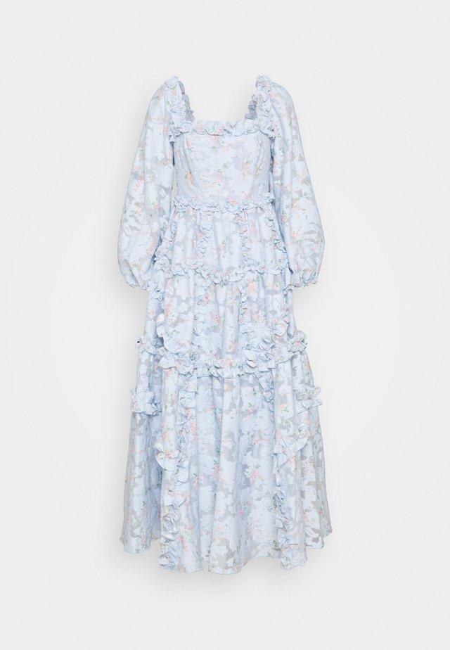 SUMMER BLOSSOM ANKLE GOWN - Korte jurk - wedgewood blue