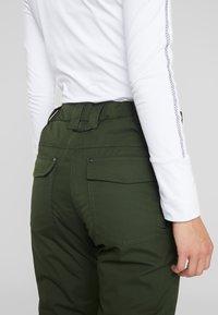 Rojo - PANT - Pantaloni da neve - kombu green - 3