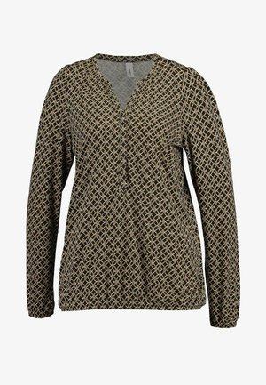 FELICITY - Long sleeved top - golden brown combi