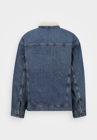 Levi's® Plus - BIG SHERPA TRUCKER - Denim jacket - television - 1