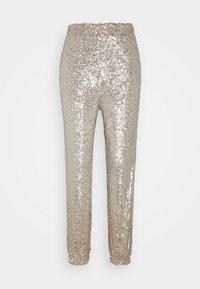 Pinko - ANNUNZIARE  - Trousers - gold - 4