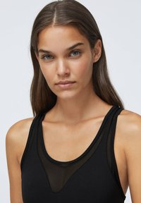 OYSHO - MESH COMPRESSION - Swimsuit - black - 2
