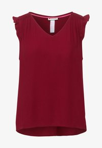 Street One - IN UNIFARBE - Blouse - rot - 3